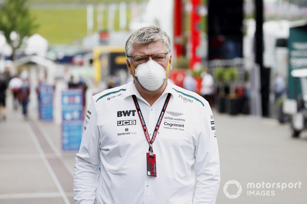 Otmar Szafnauer, director del equipo y consejero delegado de Aston Martin F1