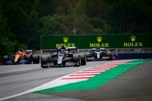 Yuki Tsunoda, AlphaTauri AT02, Daniel Ricciardo, McLaren MCL35M, Lance Stroll, Aston Martin AMR21