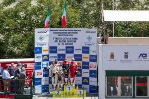 Podio Pro-Am: #11 Kessel Racing, Ferrari 488 GT3 Evo: Stephen Earle, David Perel, #88 LP Racing, Lamborghini Huracan GT3 Evo: Pietro Perolini, Angelo Negro, Lorenzo Veglia