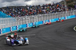 Jake Dennis, BMW I Andretti Motorsport, BMW iFE.21, Mitch Evans, Jaguar Racing, Jaguar I-TYPE 5, Sam Bird, Jaguar Racing, Jaguar I-TYPE 5