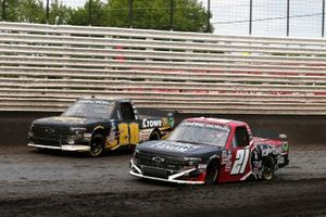 Kyle Strickler, Young's Motorsports, Chevrolet Silverado Crowe Equipment, Zane Smith, GMS Racing, Chevrolet Silverado Tender Bison