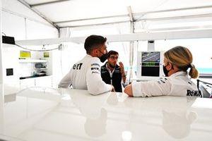 Edoardo Mortara, Venturi Racing, Jerome d'Ambrosio, team principal de Venturi Racing, Susie Wolff, team principal de Venturi Racing