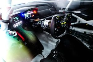 Drive by wire steering of Timo Glock, ROWE Racing