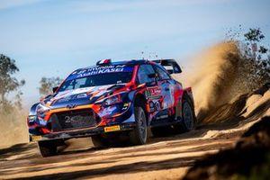 Pierre-Louis Loubet, Florian Haut-Labourdette, Hyundai 2C Competition Hyundai i20 Coupe WRC
