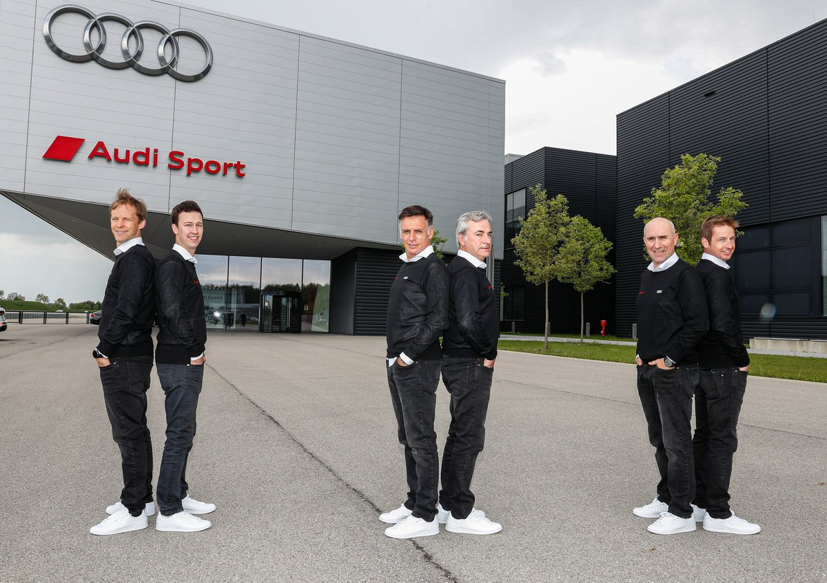 Mattias Ekström, Emil Bergkvist, Lucas Cruz, Carlos Sainz, Stéphane Peterhansel, Édouard Boulanger, Audi Sport