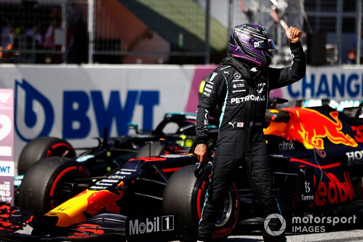 Segundo puesto Lewis Hamilton, Mercedes