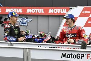 Фабио Куартараро, Yamaha Factory Racing, Франческо Баньяя, Ducati Team