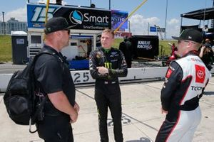 Riley Herbst, Stewart-Haas Racing, Ford Mustang Monster Energy, Ty Giibs, Joe Gibbs Racing, Toyota Supra Joe Gibbs Racing