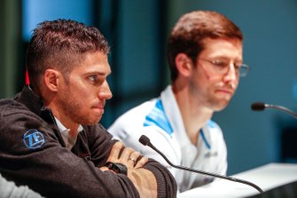 Edoardo Mortara, Venturi Formula E, in the press conference with Alexander Sims, BMW I Andretti Motorsports