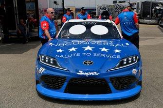 Jeffrey Earnhardt, XCI Racing, Toyota Supra Comcast NBCUniversal Salute to Service
