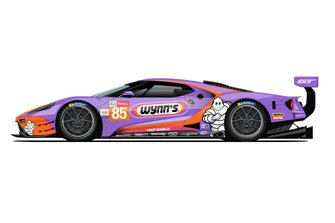 Ford GT livery for 24h Le Mans