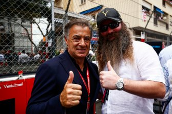 Jean Alesi meets William Storey, CEO, Rich Energy