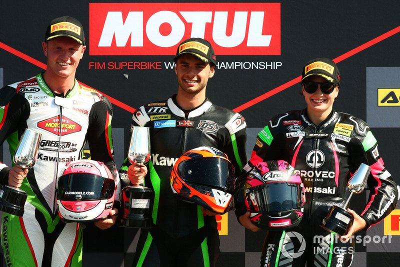 Scott Deroue, Marc Garcia, Ana Carrasco, Provec Racing