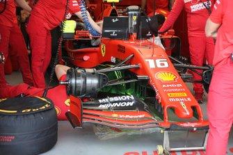 Ferrari technisch detail