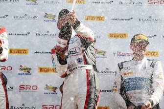 Podium: #31 JRM Racing Bentley Continental GT3: Rick Parfitt Jr.