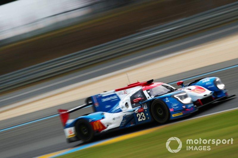 #23 Panis Barthez Racing Ligier JSP217: Rene Binder, Julien Canal, Will Stevens