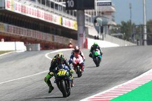 Valentino Rossi, Yamaha Factory Racing, Francesco Bagnaia, Pramac Racing, Franco Morbidelli, Petronas Yamaha SRT