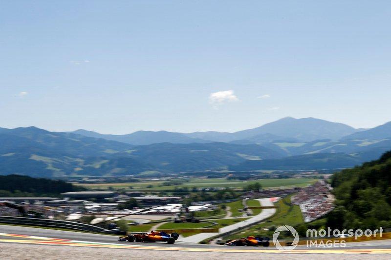 Карлос Сайнс-мол., Ландо Норріс, McLaren MCL34