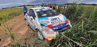 Pedro Antunes, Paulo Lopes, Peugeot 208 R2, FIA ERC, Rally Poland