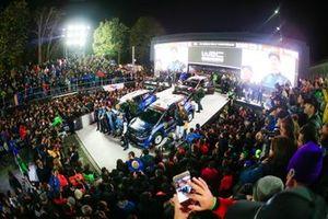 Teemu Suninen, Marko Salminen, M-Sport Ford WRT Ford Fiesta WRC, Elfyn Evans, Scott Martin, M-Sport Ford WRT Ford Fiesta WRC, Lorenzo Bertelli, Simone Scattolin, M-Sport Ford WRT Ford Fiesta WRC
