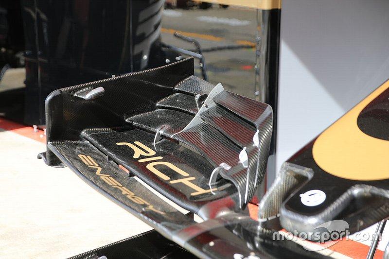 Detalle técnico de Haas F1 Team