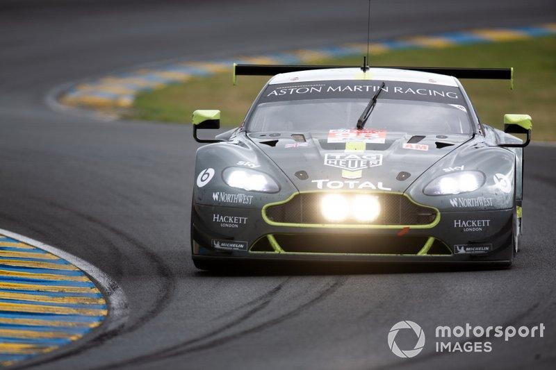 #98 Aston Martin Racing, Aston Martin Vantage: Pedro Lamy, Mathias Lauds, Paul Dalla Lana