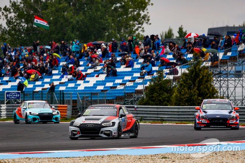 Frédéric Vervisch, Comtoyou Team Audi Sport Audi RS 3 LMS, Norbert Michelisz, BRC Hyundai N Squadra Corse Hyundai i30 N TCR