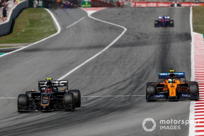 GP de España 2019: Magnussen vuelve a la gloria y Sainz repite podio