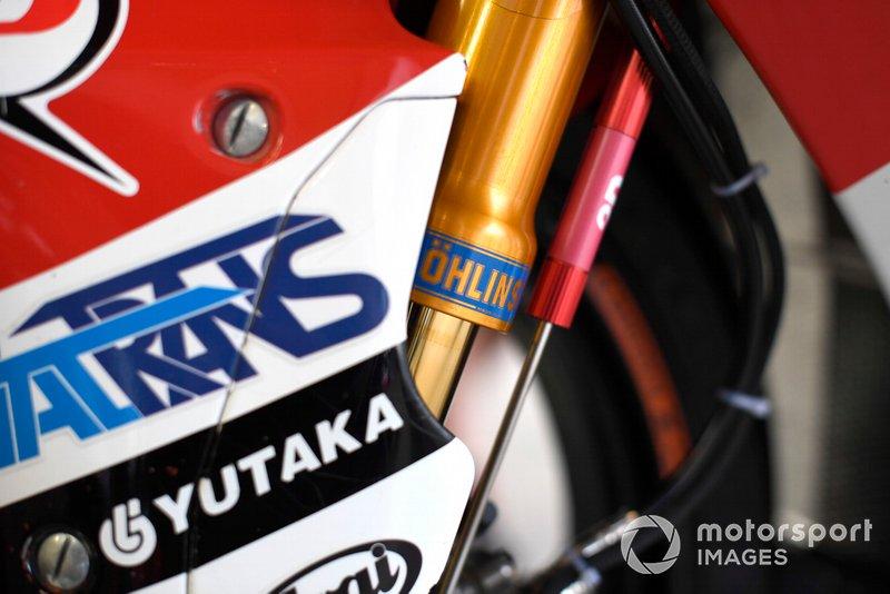 Honda Asia bike details