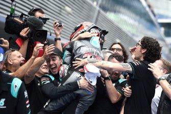 Обладатель поула Фабио Куартараро, Petronas Yamaha SRT