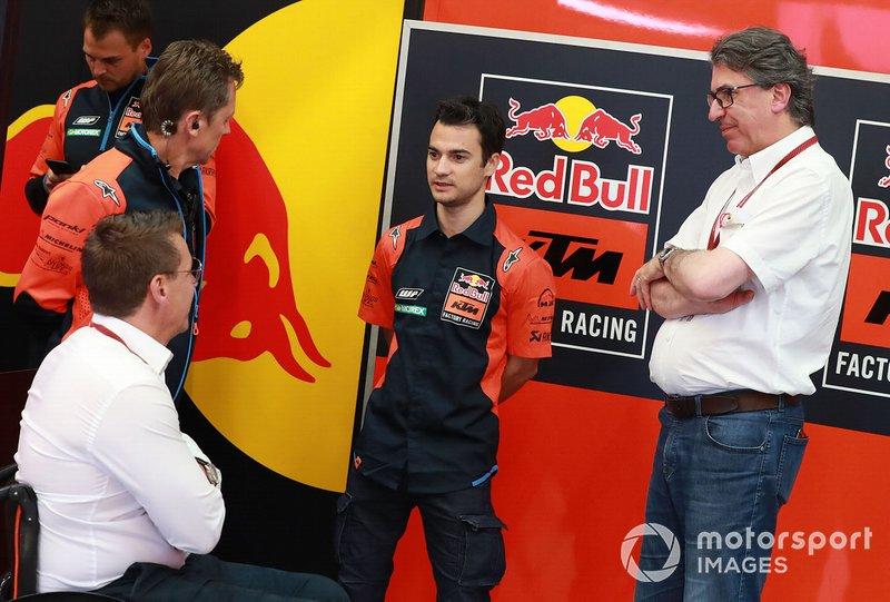 Pit Beirer, Mike Leitner, Red Bull KTM Factory Racing, Dani Pedrosa, Red Bull KTM Factory Racing Test Rider, Stefan Pierer, CEO KTM Group