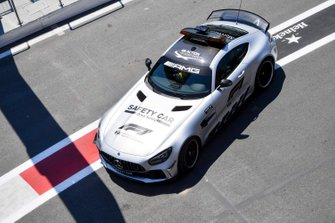Safety Car in the pit lane