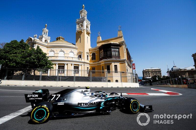 1: Valtteri Bottas, Mercedes AMG W10, 1'40.495
