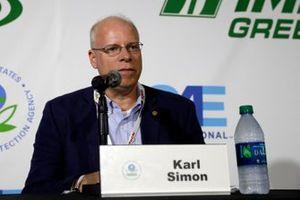 IMSA Green Press conference. Karl Simon. Director, TCD at US EPA. Director, Transportation and Climate Division at US EPA.