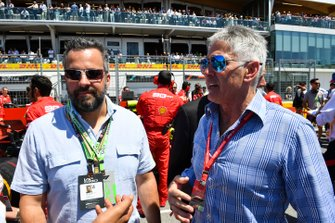 Eric Kerub, Businessman and team owner, with Mick Doohan, multiple 500cc GP motorcycle champion