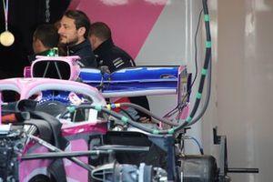 Dettaglio ala posteriore Racing Point RP19