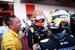 Yarış galibi Nicholas Latifi, Dams, 2. Jack Aitken, Campos Racing