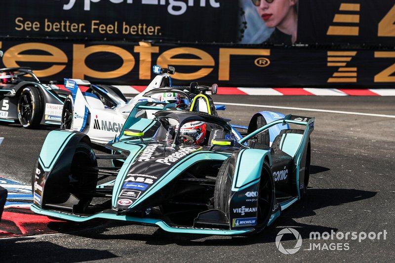 Alex Lynn, Panasonic Jaguar Racing, Jaguar I-Type 3 , Antonio Felix da Costa, BMW I Andretti Motorsports, BMW iFE.18