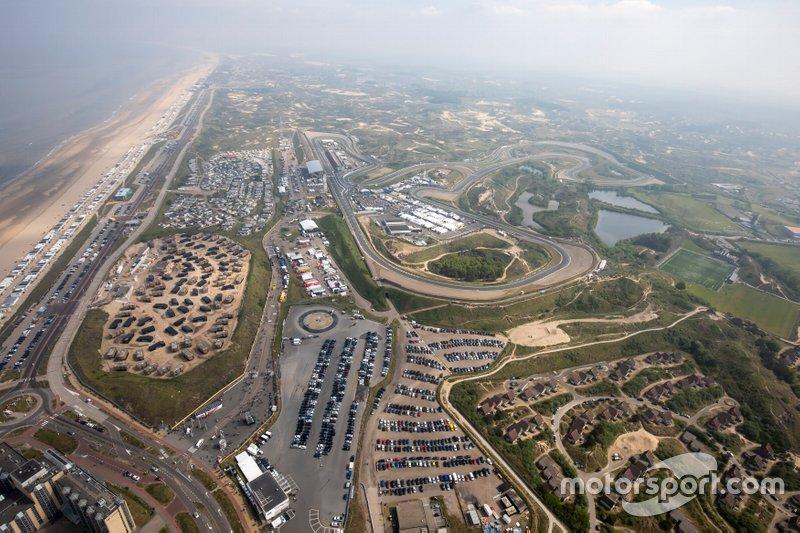 Vista del circuito de Zandvoort