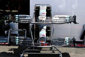 Voorvleugel van de Mercedes AMG F1 W10