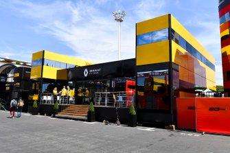 Motorhome de Renault F1 Team