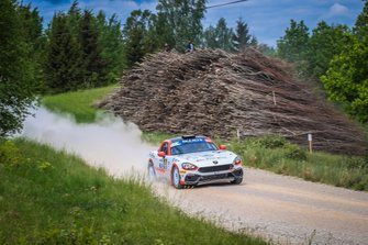 Dariusz Polonski, Lukasz sitek, Abarth 124 Rally, Rally Liepaja, FIA ERC