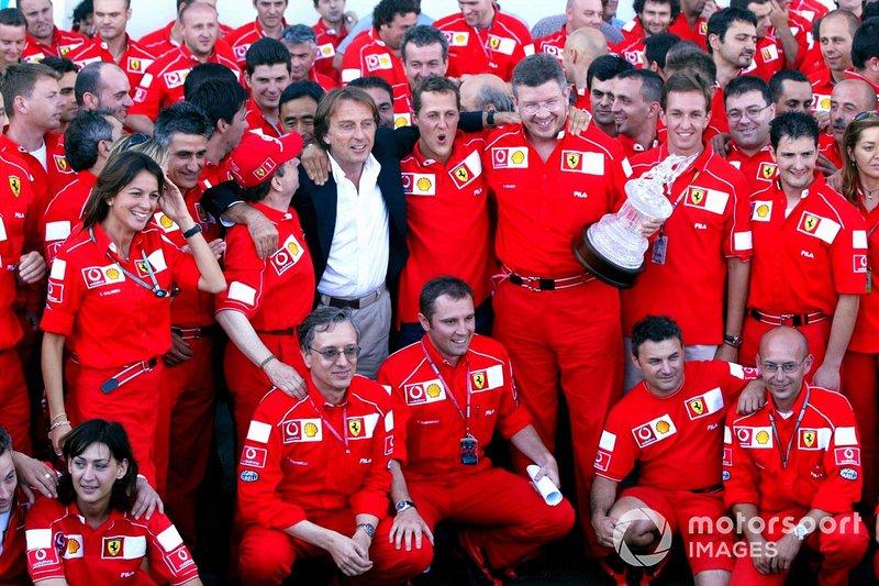 Campeón del mundo de Fórmula 1 2002