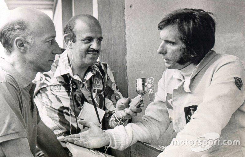 Claudio Carsughi e Emerson Fittipaldi