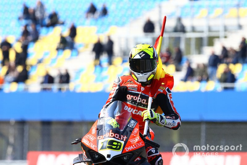 Alvaro Bautista, Aruba.it Racing-Ducati Team, WorldSBK race1, Assen 2019