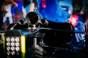 Toro Rosso STR14, dettaglio dello scarico