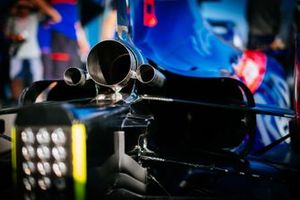 Toro Rosso STR14, egzoz detay