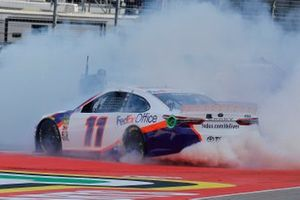 Race Winner Denny Hamlin, Joe Gibbs Racing, Toyota Camry FedEx Office