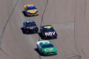 Paul Menard, Wood Brothers Racing, Ford Mustang Menards / Quaker State, Jimmie Johnson, Hendrick Motorsports, Chevrolet Camaro Ally