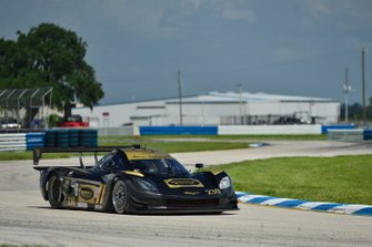 #230 FP1 Corvette Daytona Prototype driven by William Hubbell & Alex Popow of Hubbell Racing